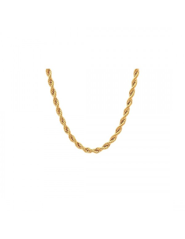 18kt gold filled Rope Chain - 50cm