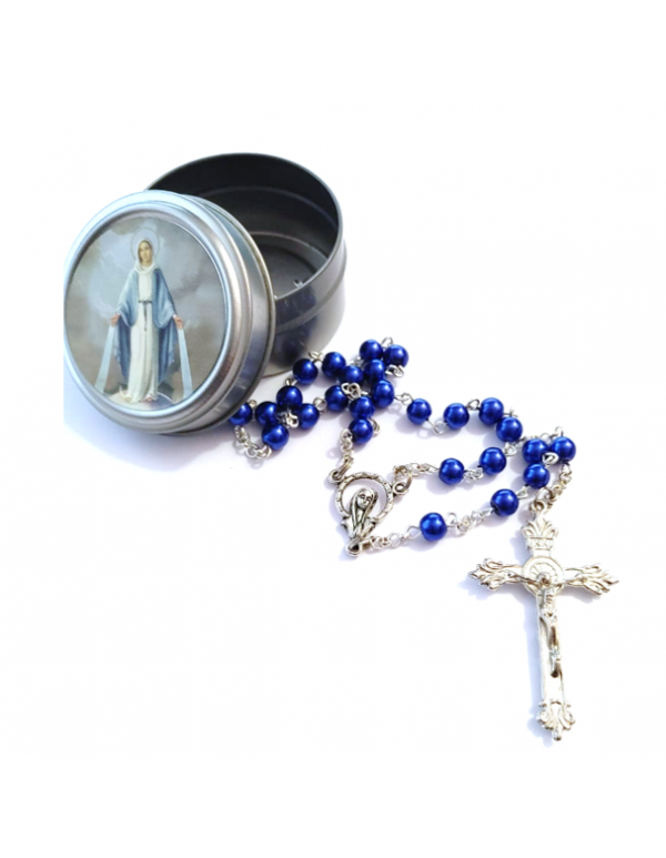 Our Lady of Grace Rosary Gift Box with Rosary