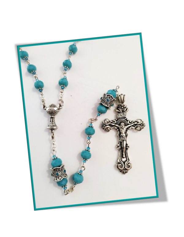 Turquoise December Birthstone Rosary