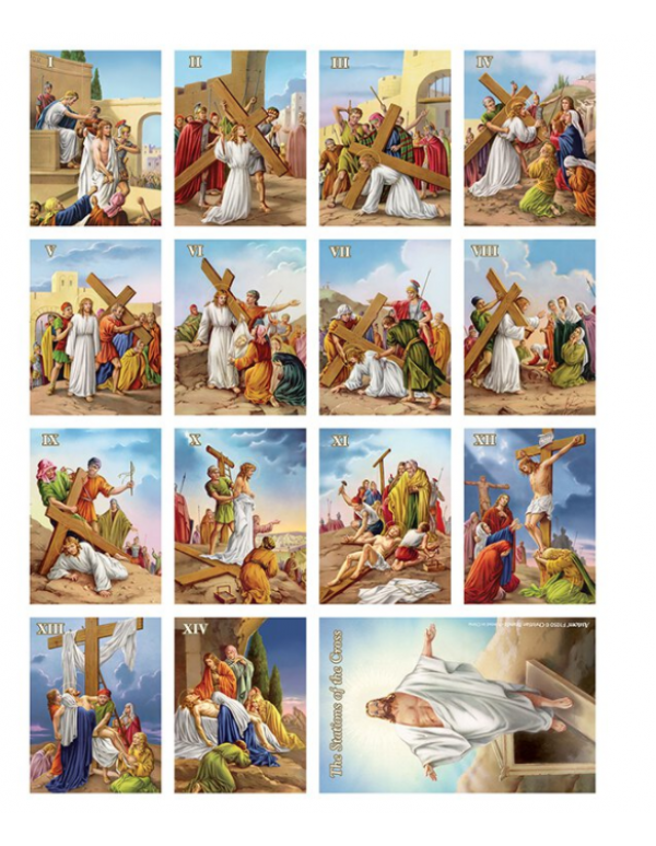 Stations of the Cross Magnet set