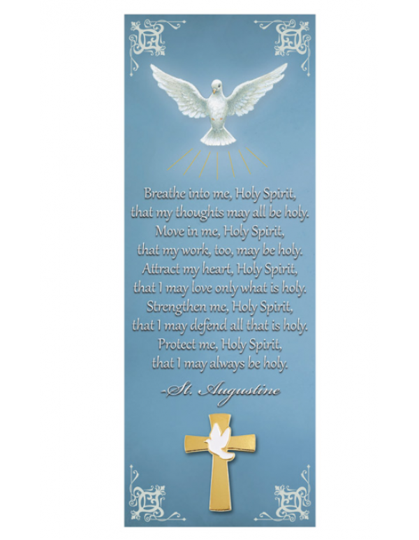 Holy Spirit Lapel Pin with Bookmark
