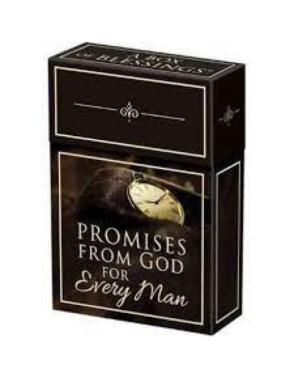 Promises From God For Every Man Cards (Boxed Cards)