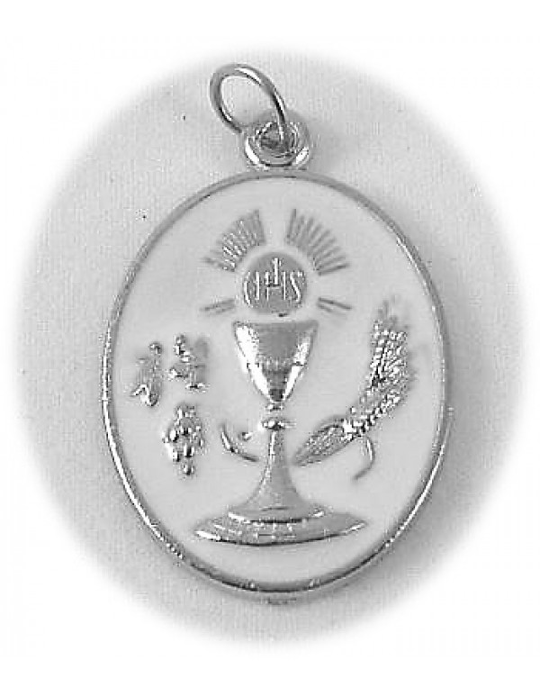 FHC Silver Medal with White inlay