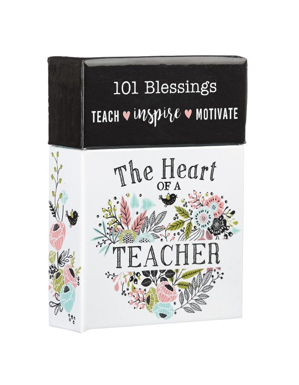The Heart of a Teacher - 101 Box of Blessings