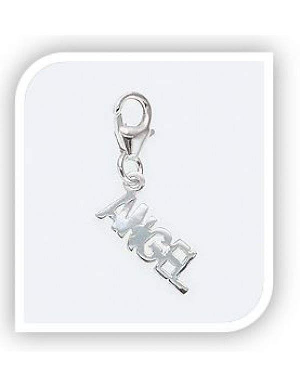 ANGEL charm in Sterling Silver for Charm Bracelet