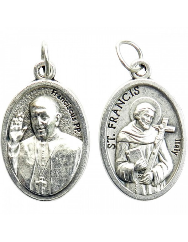 Pope Francis / St Francis medal
