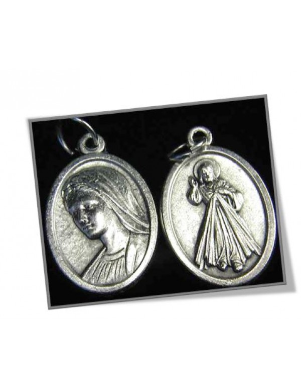 Divine Mercy / Our Lady of Medjugorje Medal