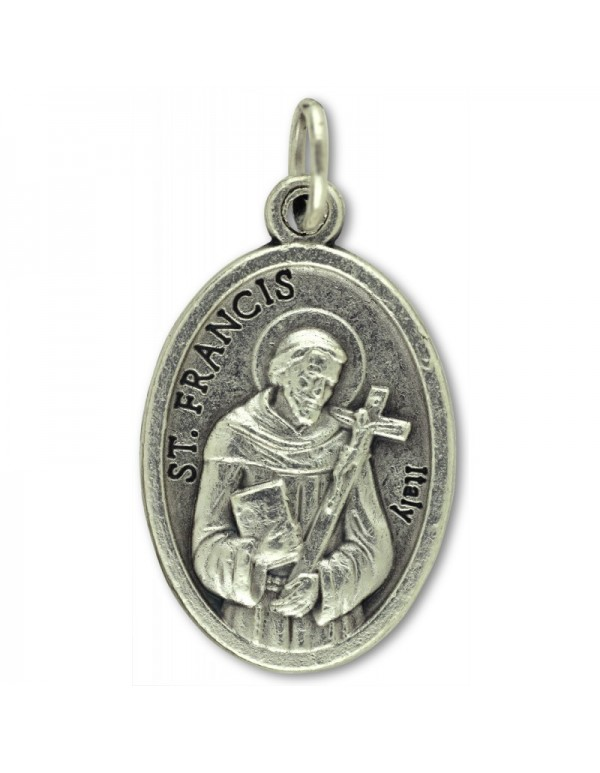 St Francis of Assisi / St Anthony of Padua Medal