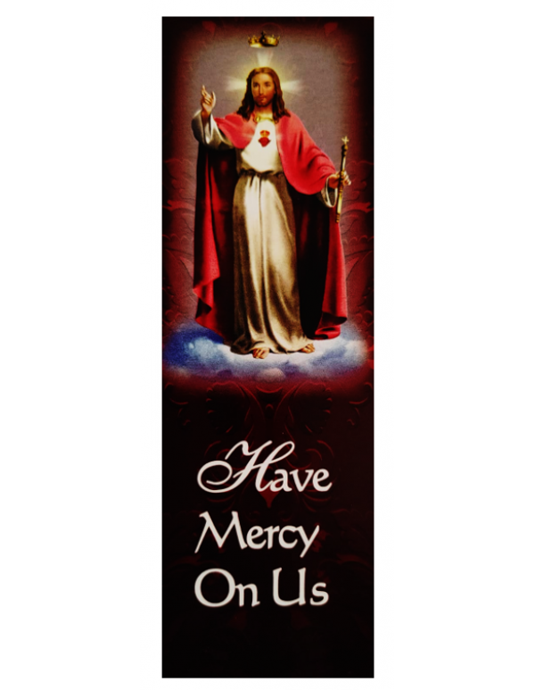 Morning offering to the Sacred Heart Bookmark