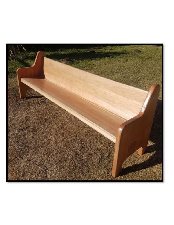 2,400mm x 800mm - Solid Wood Pews