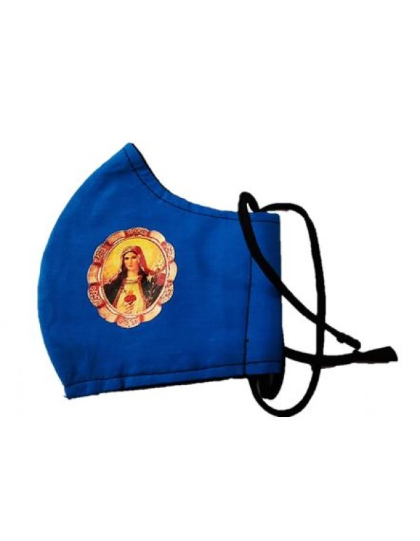 Our Lady of the Immaculate Heart Face Mask