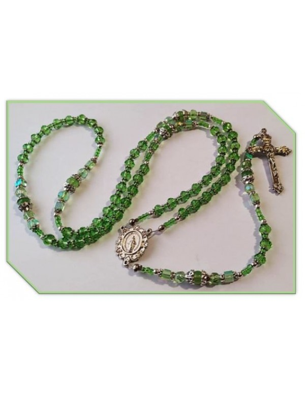 Birthstone Rosary - August / Peridot - Limited Edition