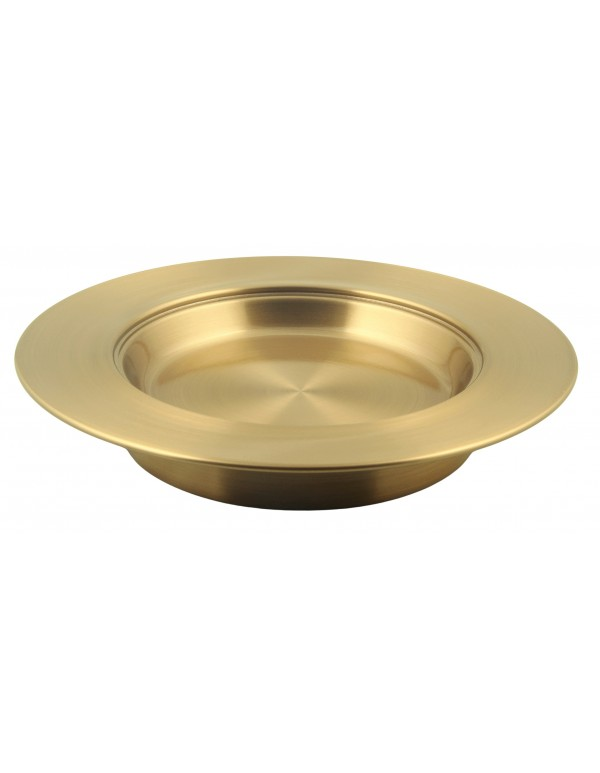 Bread Tray -  Brass Lacquer Coated - Stackable