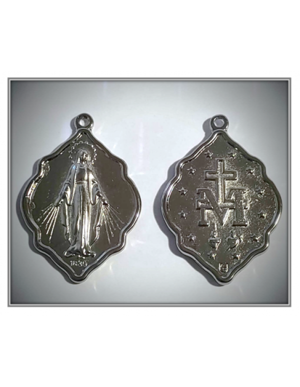 Miraculous Medal - Ornate 4cm