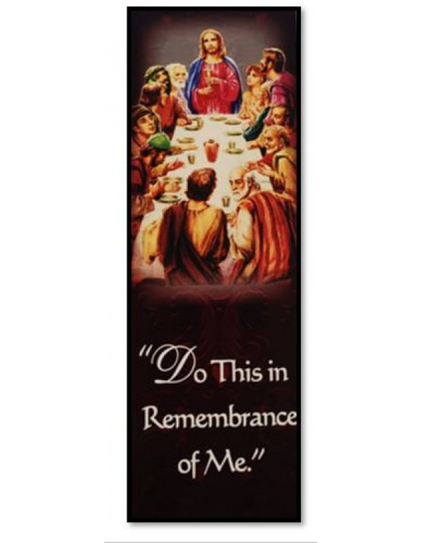 Apostles Creed - Last Supper Bookmark