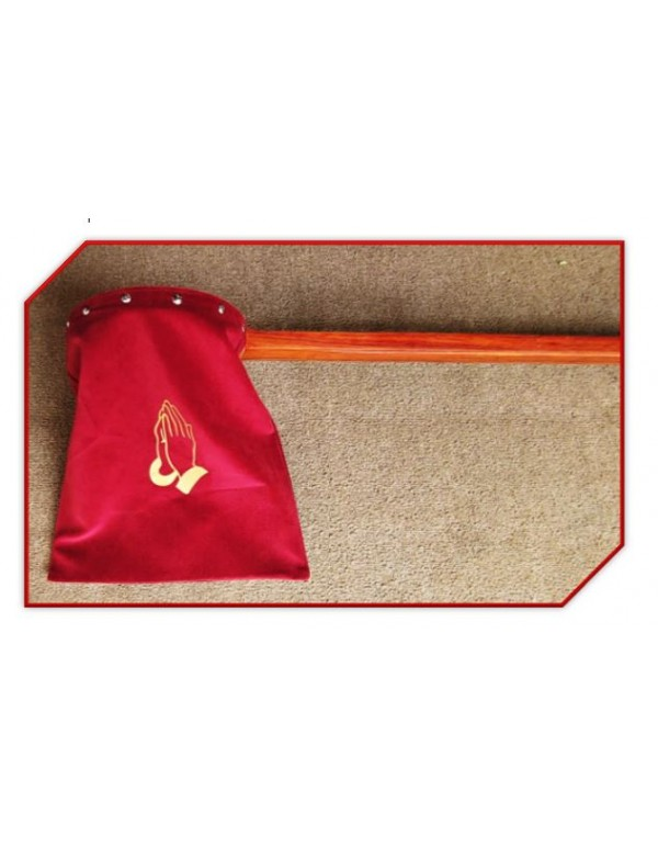 138cm - Long handled Offering / Collection Bag