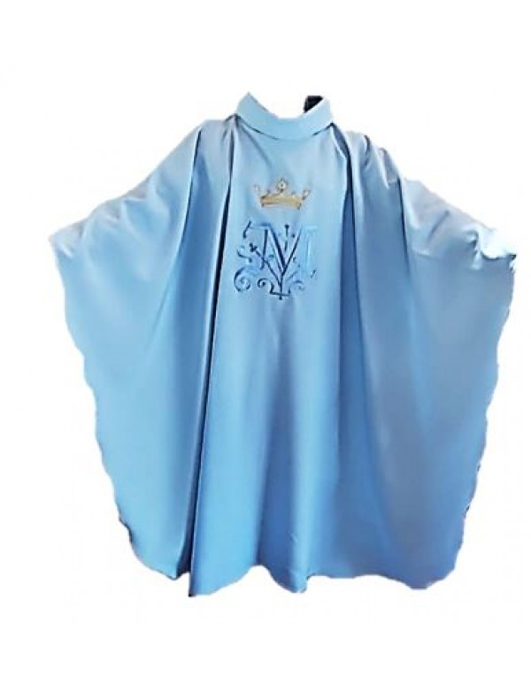 Pale Blue Marion Chasuble and stole