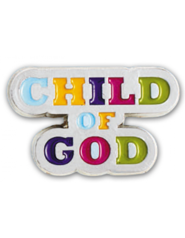 Child of God - Lapel Pin & Bookmark