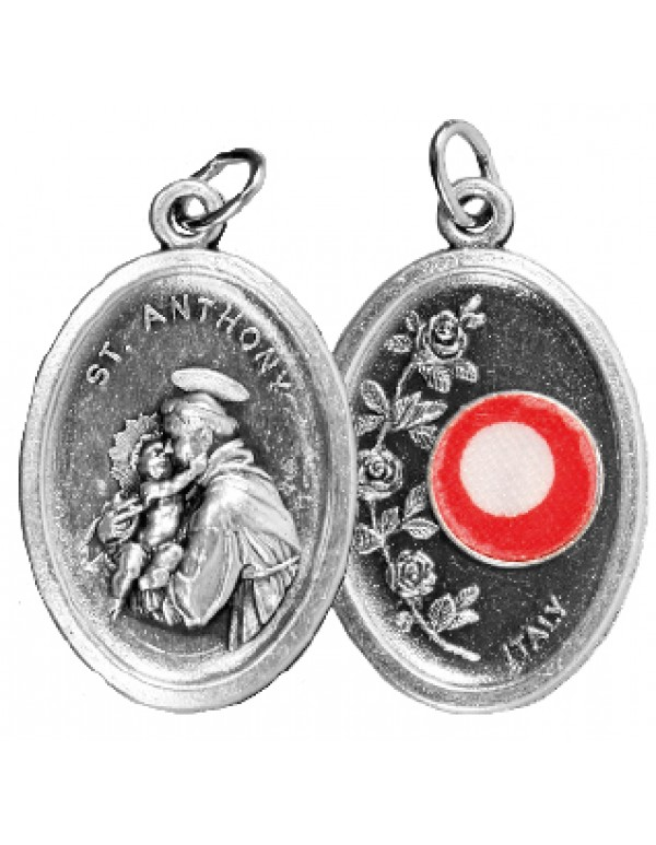 2.5cm  - 3rd Class Relic Medal - St Anthony