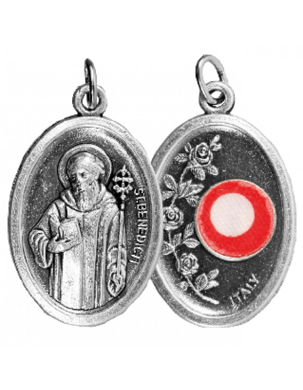 2.5cm - 3rd Class relic Medal - St Benedict