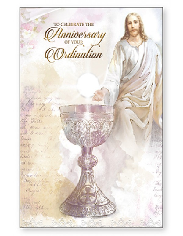 To Celebrate the Anniversary of your Ordination Greeting Card