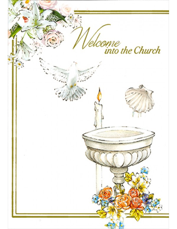 Welcome into the Church - Greeting Card
