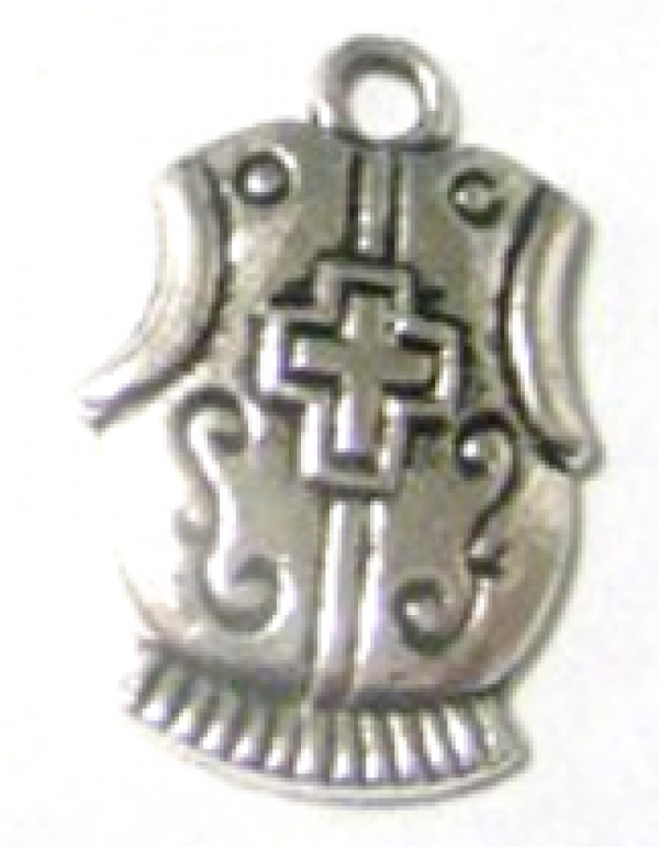 Sterling silver  Armor of God - Breastplate
