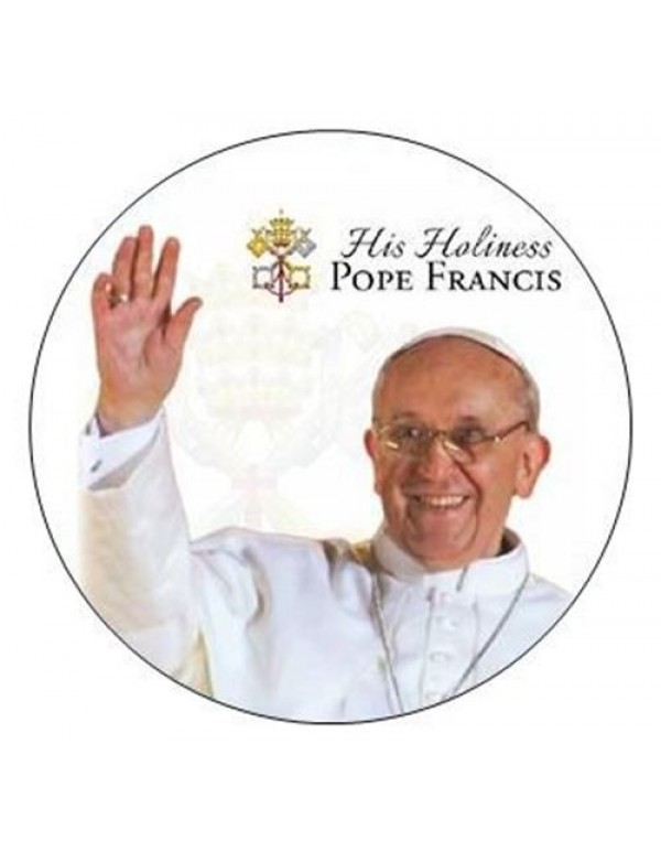 His Holiness Pope Francis License Disc Holder