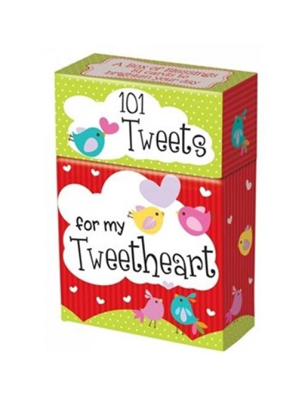 101 Boxed cards - Tweets for my Tweetheart  - Bible quotes -  Gift Box