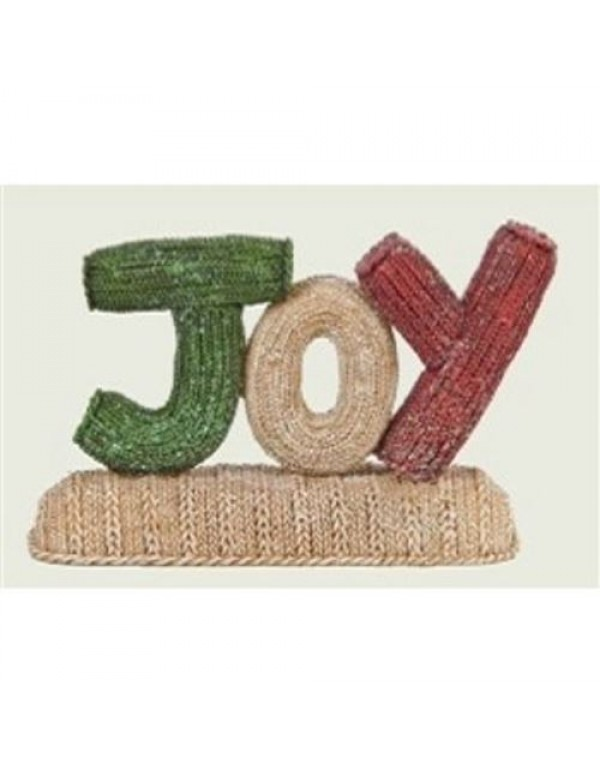 10cm - Joy table ornament