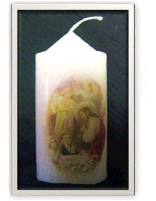 1st Holy Communion Boy & Girl / Jesus - votive candle