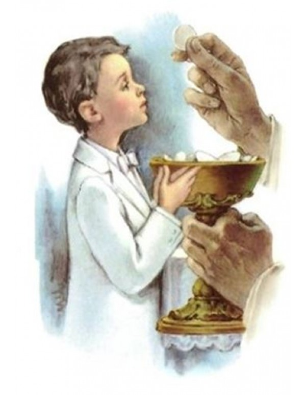 1st Holy Communion Card - Boy