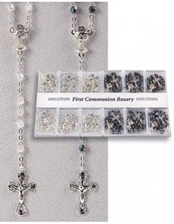 1st Holy Communion Rosary in gift box