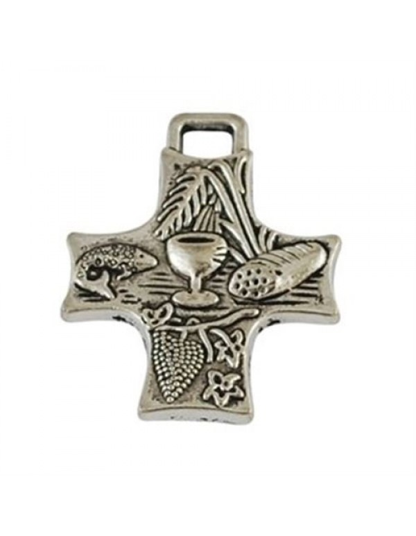 1st Holy Communion symbols 35mm silver cross