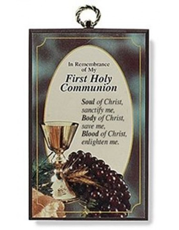 1st Holy Communion wall plaque