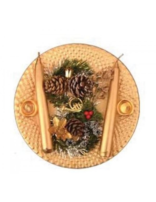 21cm diameter Golden Center  Piece for Table Setting