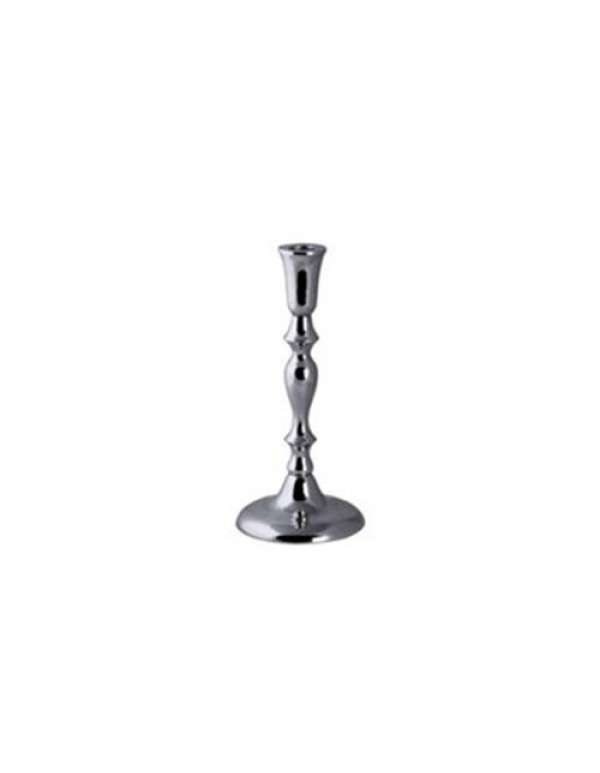 23cm silver plated altar candle holder