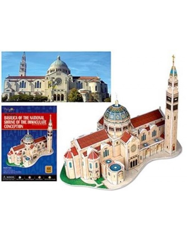 3D Puzzle -  Immaculate Conception Shrine
