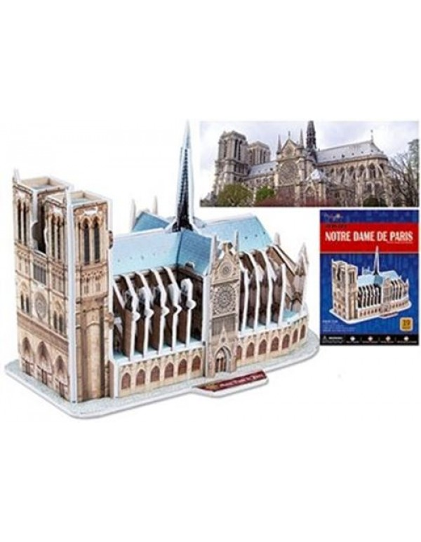 3D puzzle - Notre Dame Cathedral