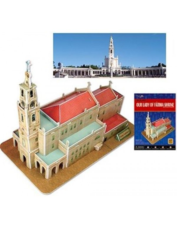 3D puzzle - Our Lady of Fatima Shrine