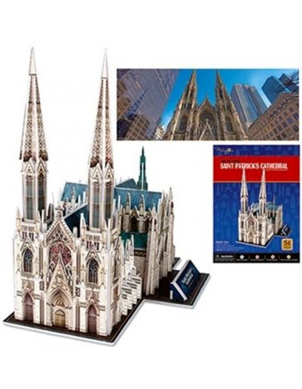 3D Puzzle - St Patrick's Cathedral
