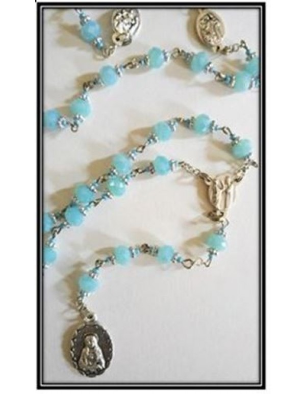 7 Dolors of Mary - In Pale blue Crystal