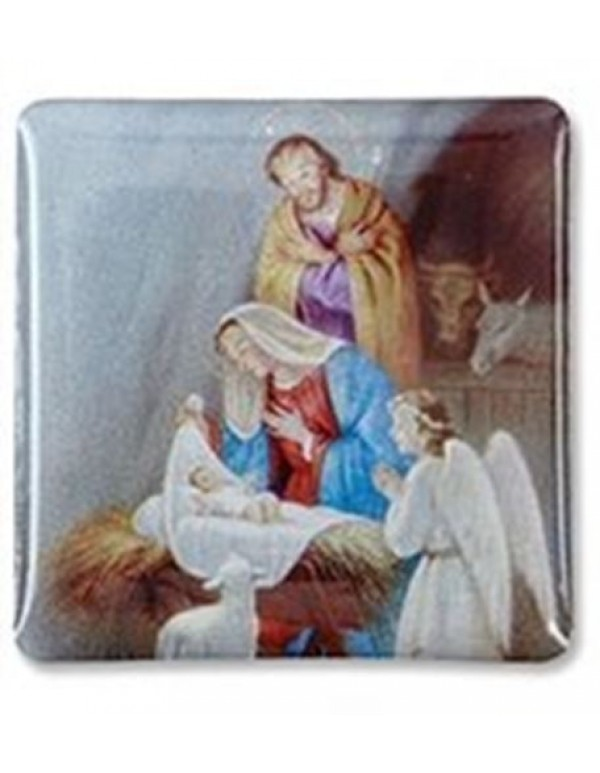 Adoration at the Manger Lapel Pin