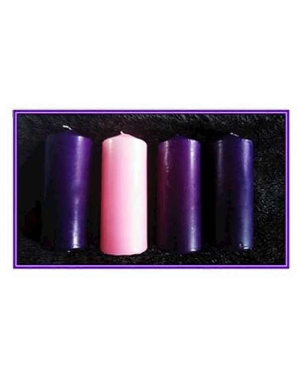 Advent Candles - 70 x 185mm