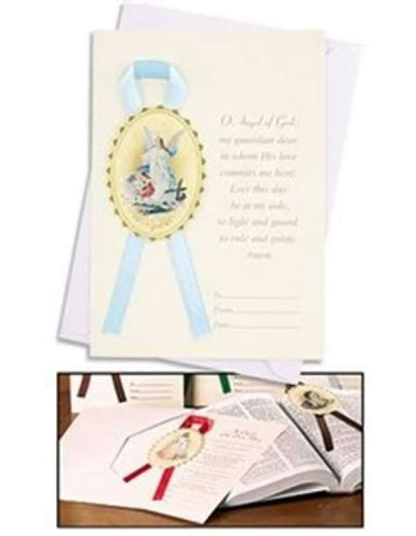Ambrosiana Venezia Baptism card and envelope - baby boy