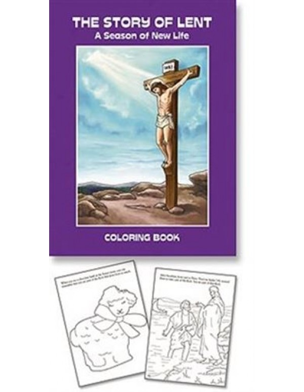 Aquinas Book - Lent Colouring book