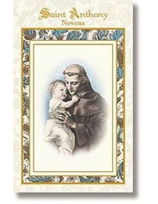 Aquinas Press - Saint Anthony Novena booklet- patron of lost items, animals