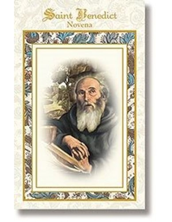 Aquinas Press - Saint Benedict Novena booklet  - patron of diseases, witchcraft