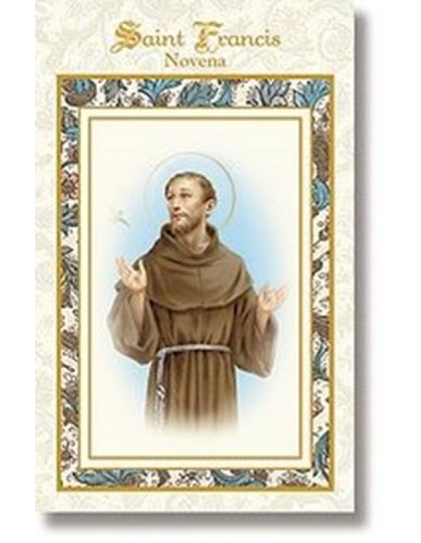 Aquinas Press - St Francis Novena booklet  - patron of animals and environment