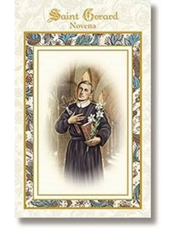 Aquinas Press - St Gerard  Majella Novena booklet -  patron of children (unborn) mothers (expectant)